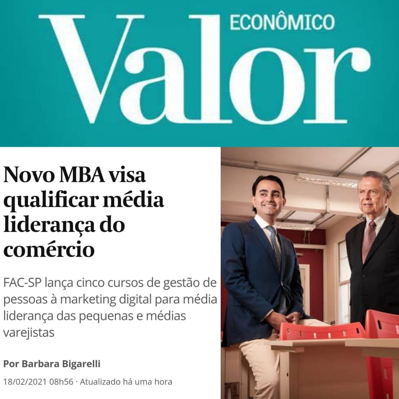 Novo MBA visa qualificar média liderança do comércio